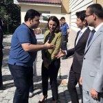 Ardahan Ağır Ceza Mahkemesi Başkanı Turgutalp'a veda töreni