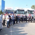 Bursa'dan Suriyelilere 9 tır yardım
