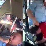 Şoför, engelli genci hastanelik etti