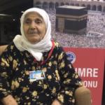 103 yaşındaki Ayşe Teyze kutsal topraklarda