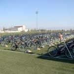 Kilis'te çocukların bisiklet sevinci