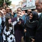 Bayburt'ta Erdoğan'a sevgi gösterisi