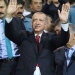 Cumhurbaşkanı Erdoğan Rize'de maç izledi