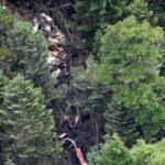 9 kişiyi taşıyan helikopter dağa çakıldı!