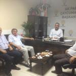 AK Parti Çaycuma İlçe Başkanı Doğancı'ya ziyaret
