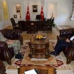 Tuğgeneral Afgün'den veda ziyaretleri