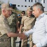 Korgeneral Karataş'ın veda ziyaretleri