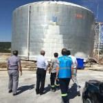 Kütahya'da stok tankından sülfürik asit sızıntısı