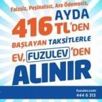 AYDA 416 TL'YE EV SAHİBİ OLUN!