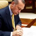 Başkan Erdoğan'dan yeni atamalar