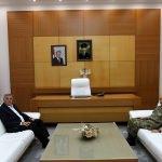 Sakarya Garnizon Komutanı Arıkan'dan veda ziyareti
