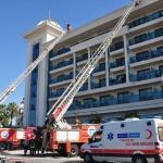 Antalya'da otelde yangın