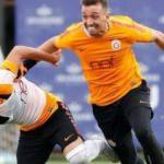 Galatasaray'da Tolga Ciğerci sakat döndü