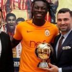 Gomis Altın Top ödülünü aldı