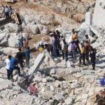 İdlib'den acı haber: Ölü sayısı 67'ye yükseldi