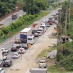 Karadeniz'de İstanbul'u aratmayan trafik