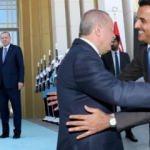 Katar Emiri Külliye'de! Önemli görüşme başladı