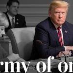 Trump zor durumda! Yalnızlara oynuyor