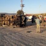 Malatyaspor taraftarı kaza yaptı! 15 yaralı
