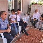 Keban'da şehit aileleri ve kabirlerine ziyaret