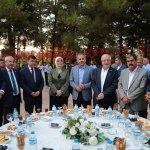 Gaziantep'te bayramlaşma yapıldı
