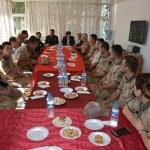 Siverek'te güvenlik güçleri ve şehit ailelerine bayram ziyareti