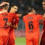 Beşiktaş Sırbistan'da avantajı kaptı!