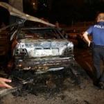 Facia! Yanan otomobilin sürücüsü öldü