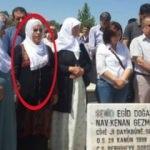 HDP'li isim terörist mezarını ziyaret etti
