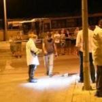 Kız arkadaşının sokağına bomba attı!