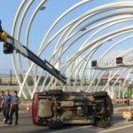 Avrasya Tüneli'nde kaza! 3 gişe trafiğe kapatıldı