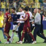 Kadıköy'de maç bitti ortalık karıştı