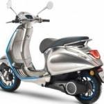 Vespa'nın ilk elektrikli scooter modeli geliyor!