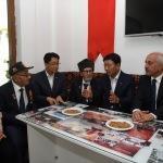 Güney Kore heyeti gazileri ziyaret etti