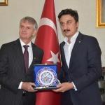 Kanada'nın Ankara Büyükelçisi Chris Cooter Kars'ta