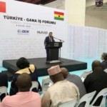 Türkiye-Gana İş Forumu yapıldı