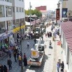 Ağrı'da cadde yenileme çalışması başlatıldı