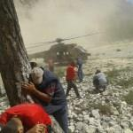 Kayalıklara düşen paraşütçü 20 saat sonra kurtarıldı