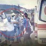Ambulans şoförüne yumruklu saldırı!