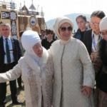 Emine Erdoğan Kırçın Yaylası'nda