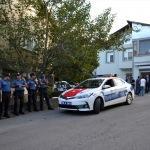 El Bab şehidinin evlenen kardeşine polis konvoyu
