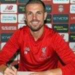 Liverpool'dan Henderson'a yeni sözleşme