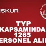 MEB Müdürlüğüne TYP ile 1265 sınavsız personel alımı! İŞKUR başvuru şartları...