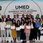 Medya Okulu mezunları sertifikalarını aldı