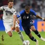 Mesut'suz Almanya son şampiyon Fransa'yi yenemedi