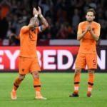 Sneijder'e büyük onur! Alkışlar eşliğinde bıraktı