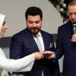 Kampüste evlendiler, nikah şahidi Erdoğan oldu