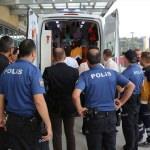 Polis ve sağlık ekiplerine saldıran kişi vurularak etkisiz hale getirildi