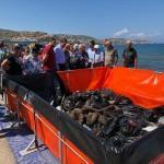 Foça'daki akaryakıt sızıntısına bilirkişi incelemesi