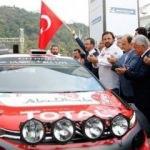 Bakan Kasapoğlu, Türkiye Rallisi'ne start verdi